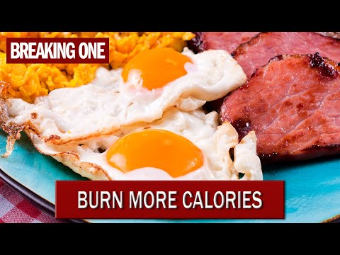 Does eating a big breakfast burn more calories?