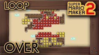 "Super Mario Maker 2 - Creative ""Loop Over"" Level"