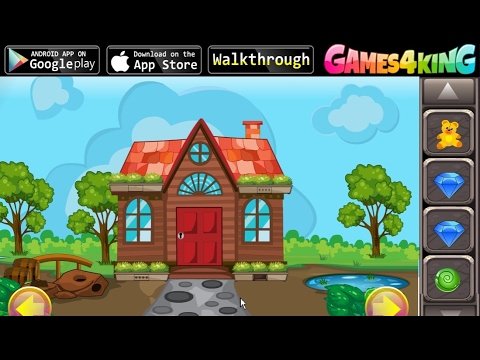 G4K Cartoon Garden House Escape walkthrough Games4King.