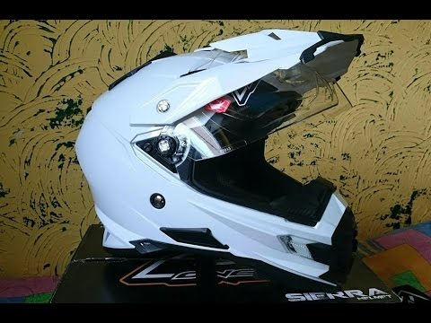 7533e0560ab5f O NEAL Sierra Adventure DUAL helmet review NEW!!! - YouTube
