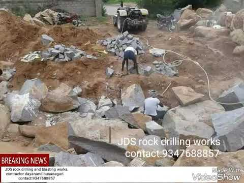 JDS Rock drilling and chemical rock cutting works