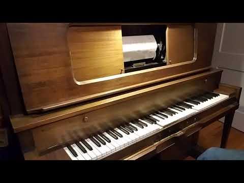 "1920 Waldorf Player Piano Plays Imperial X5282, ""No, No, Nora!"""