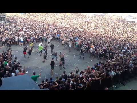 Wall of Death EXTREME  Callejon  With Full Force 2014