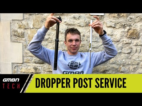 How To Service A MTB Dropper Post   Mountain Bike Maintenance