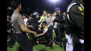 Detik-Detik Kerusuhan PSM Makasar VS Bali United