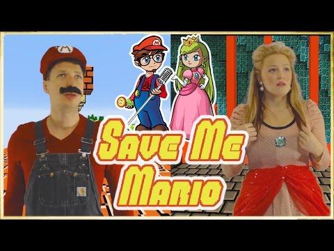"""Save Me Mario"" - A Super Mario Bros. Parody Of ""Say Something"""