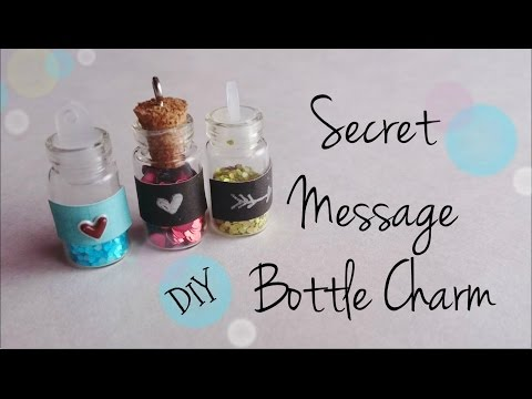 DIY Secret Message Bottle Charm