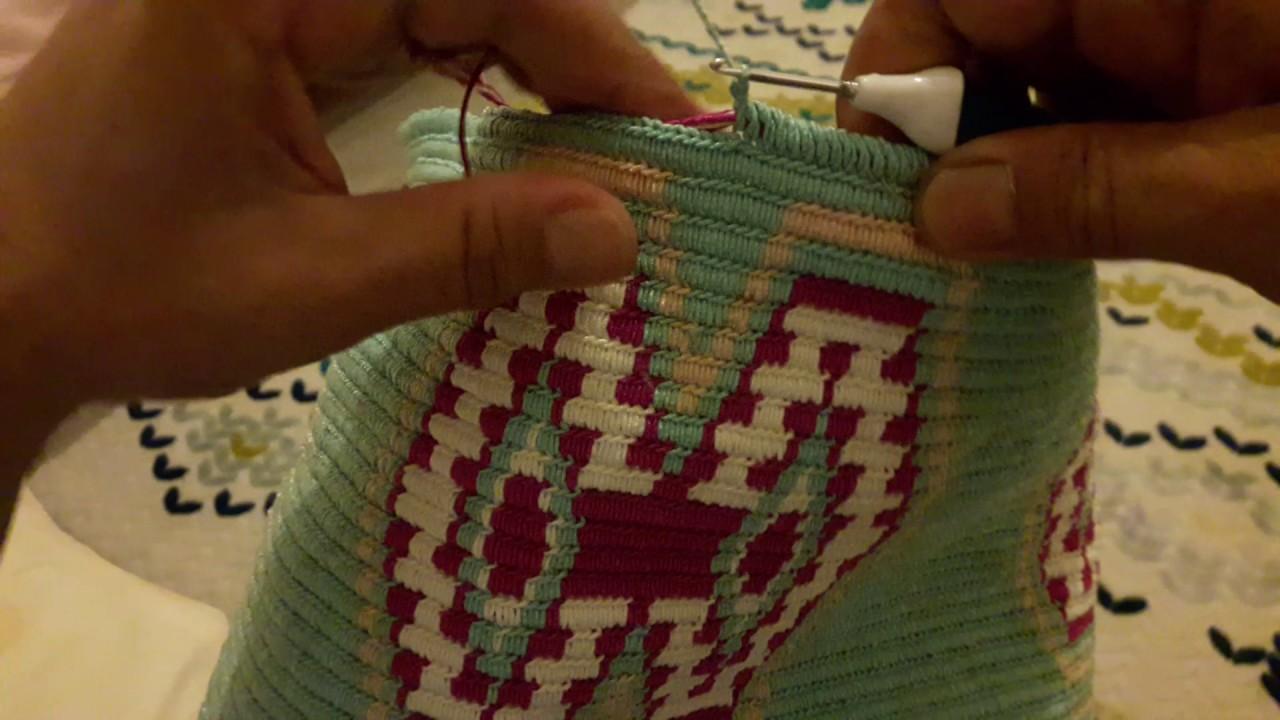 Wayuu Çanta Modeli Yapılışı Anlatımlı Videolu