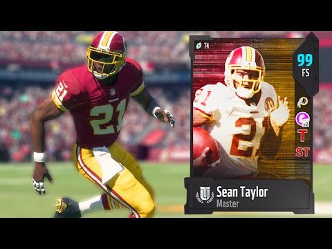 99 OVERALL SEAN TAYLOR! BEST CARD IN THE GAME! MADDEN 18 ULTIMATE TEAM