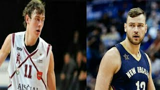 Lithuania Basketball players - Then & Now