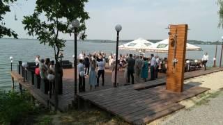 Первый свадебный танец в Резиденции