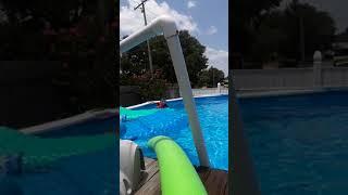 Underwater speed  chaleged By Leilani
