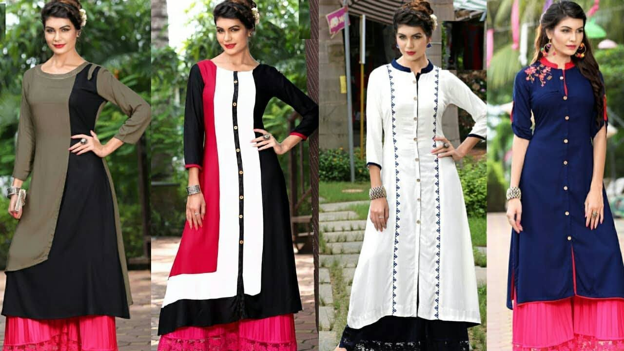 Latest Top 8 Latest Office Wear Designertrendykurtis For Womens