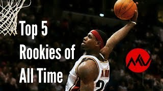 Top 5 NBA Rookies of All Time