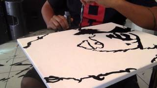 DJ SO HYPE DRAWING PRINCE HOW TO DRAW POP ART PRINCE