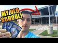 THIS GOT EMOTIONAL - Pokemon Card Opening at my OLD ELEMENTARY SCHOOL! - SECRET RARE Where You At?!
