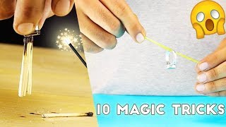 10 EASY MAGIC TRICKS TO IMPRESS ANYONE