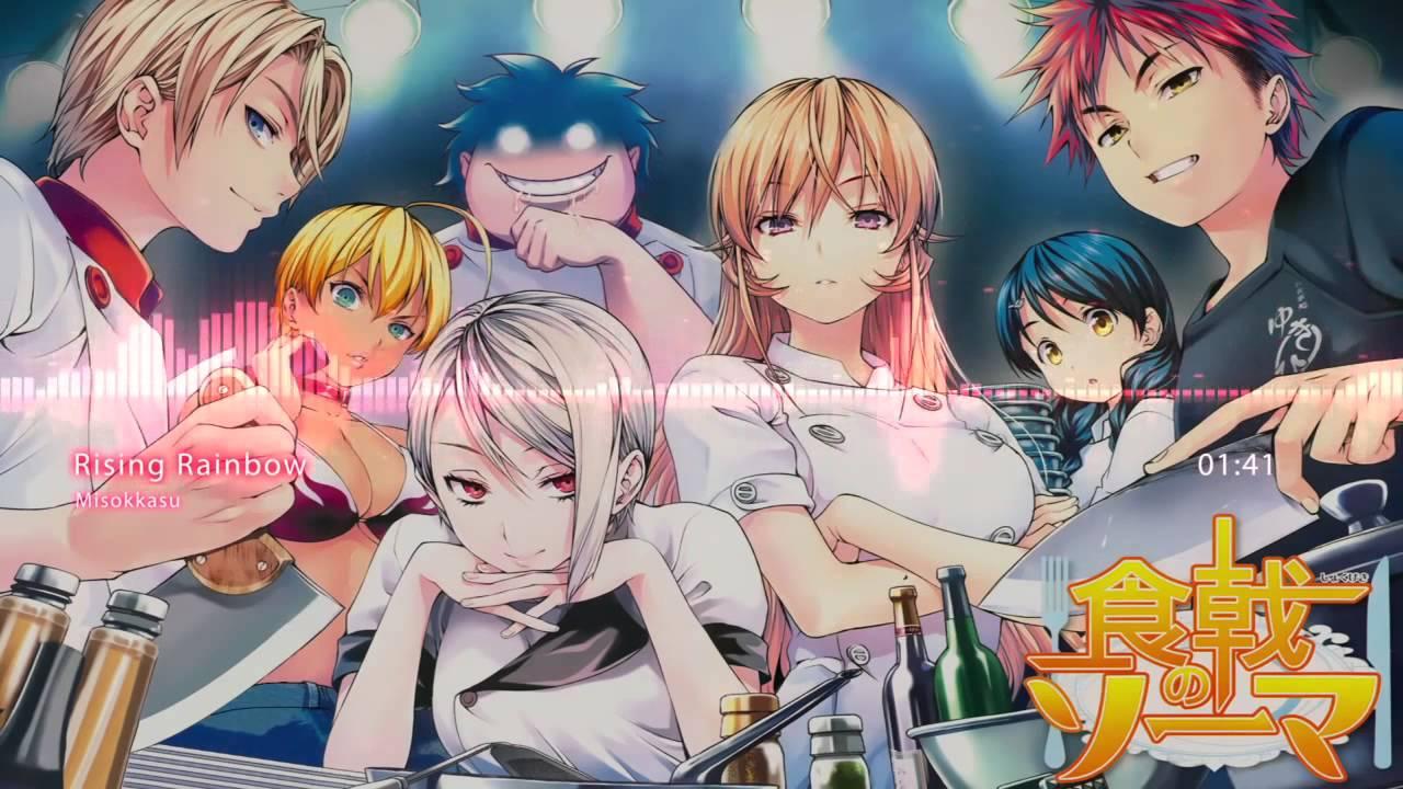 Shokugeki no Soma OP2 - Rising Rainbow Full HD