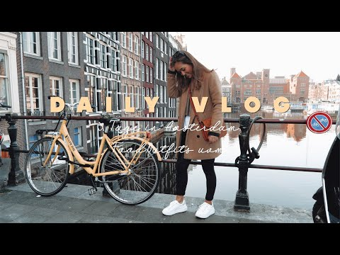 3 Tage Amsterdam I OUTFITS, FOOD UVM.  ▹ Daily Vlog ♡