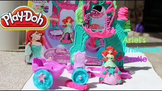 Tuesday Play Doh Ariel's Undersea Castle|Ariel Play Doh Castle|B2cutecupcakes