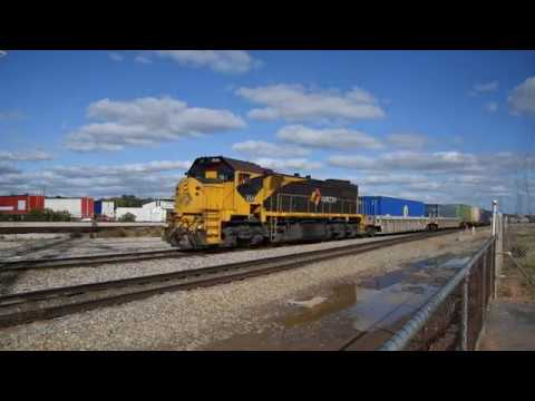 Aurizon freight with X54 and LDP007