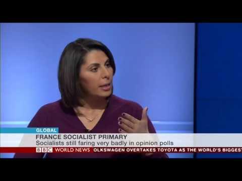Nabila Ramdani - BBC World News Global - Socialist Primary in France - 30 Jan 2017