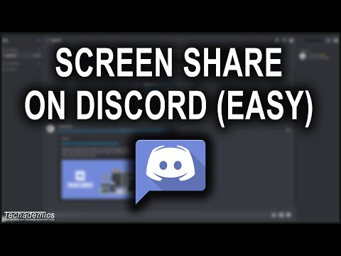 How To Screen Share On Discord - EASY