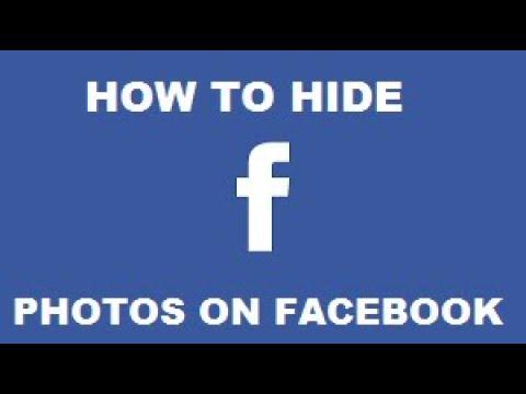 Hiding photos in facebook