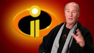 "Incredibles 2 ""Mr Incredible"" Behind The Scenes Craig T. Nelson Interview"