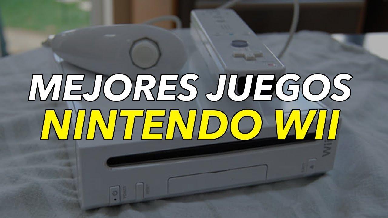 Top 10 Mejores Juegos Del Nintendo Wii 2018 Youtube