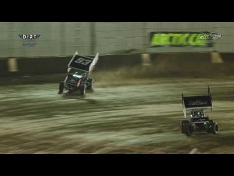 Highlights from the Indiana Dirt Classic featuring the Arctic Cat All Star Circuit of Champions Sprint Cars at Kokomo Speedway in IN, 7-23-16. More info at ... - dirt track racing video image