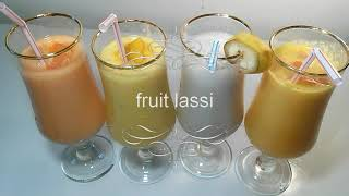 fruit lassi.