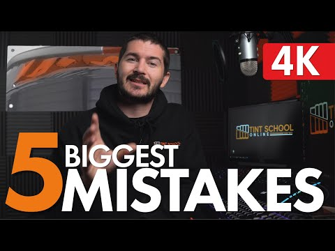 How To Shrink Back Windows || [THE 5 BIGGEST MISTAKES] || How To Tint Back Windows