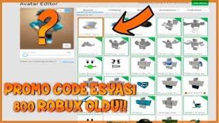 ÜCRETSİZ PROMO CODE 800 ROBUX OLDU !! / Roblox Jailbreak / Roblox Türkçe / FarukTPC