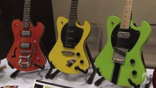 Montreal Guitar Show '11 Potvin Guitars Super Bee, Swing Bee, Killer Bee, Project '58