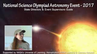 National Science Olympiad Astronomy Event - 2017 - Part1