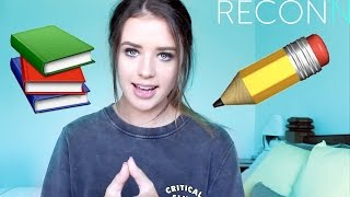 Things I Learned in High School - JESS CONTE - RECONN