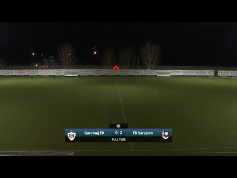 LIVE: Qarabağ FK vs FK Sarajevo