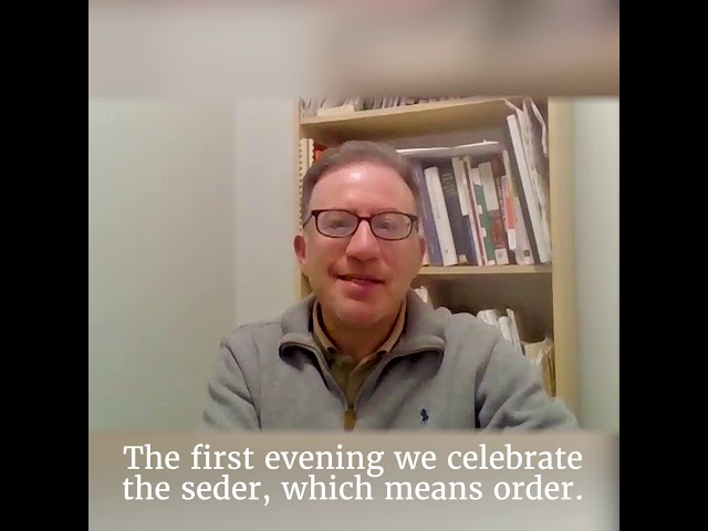 The word of Amedeo Spagnoletto on the meaning of the Passover holiday