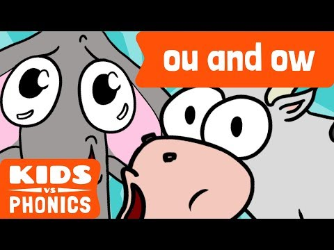 OU and OW | Similar Sounds | Sounds Alike | How to Read | Made by Kids vs Phonics
