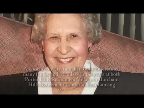 "Elizabeth ""Betty"" Cooper - Life Story Digital Video"