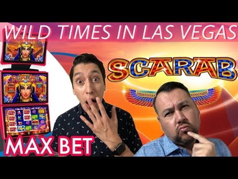 Max Bet on SCARAB Slot Machine in Las Vegas Gold Spin Wheel of Fortune