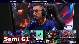 G2 eSports vs Origen - Game 1 | Semi Finals S9 LEC Spring 2019 | G2 vs OG G1