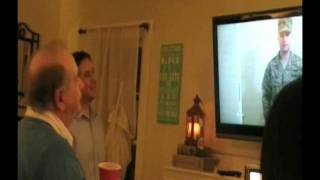 Military Son Surprises Dad at 70th Birthday Party