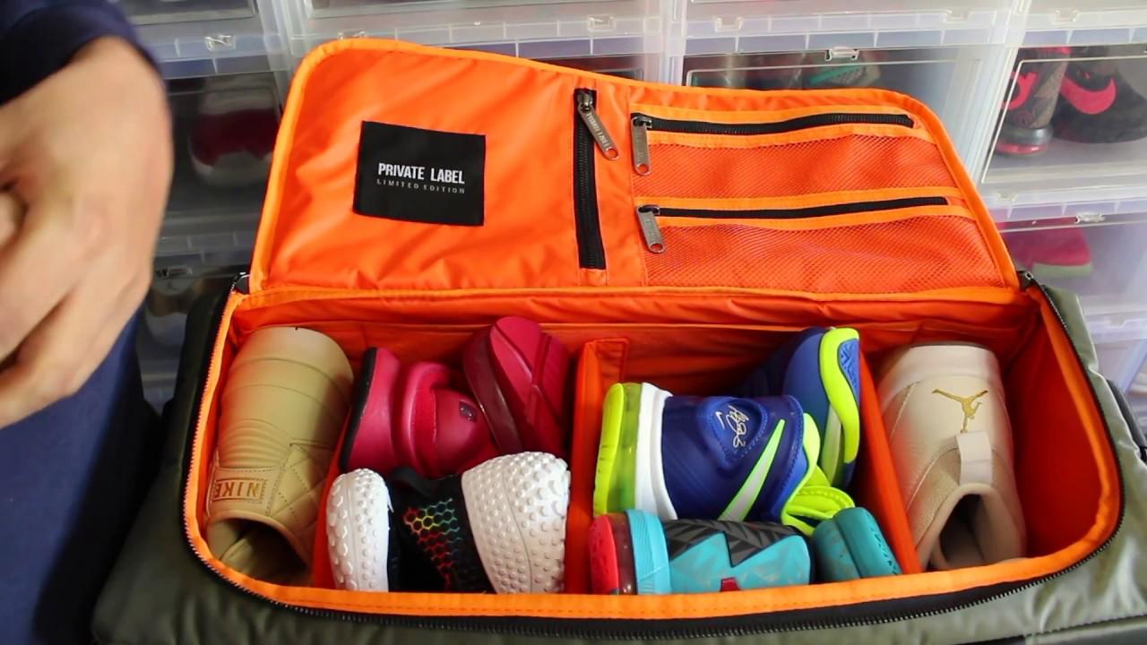 sneaker travel bag
