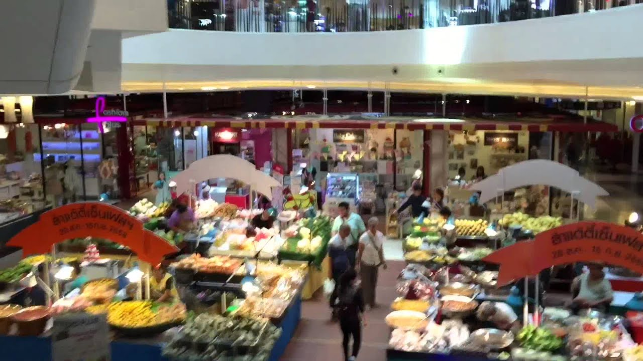 《2015清邁輕旅行》泰北最大中央歡慶百貨 - YouTube