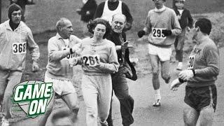 Kathrine Switzer Was Attacked At The Boston Marathon | Game On