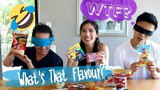 Kiwi Asians Tasting Asian Snacks - FOOD CHALLENGE