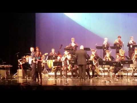 MHS Jazz Concert 2015 - Steven's Last Night In Town