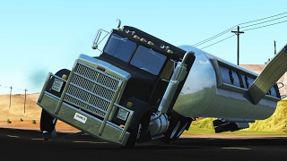 Truck & Transporter Crashes - BEAMNG Drive